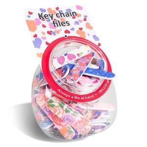 NL Fish Bowl Key Chain Files Assorti_s1